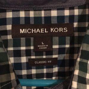Michael Kors Shirts - Michael Kors classic fit men's button-down shirt L